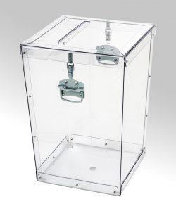 Transparent ballot boxes – 009
