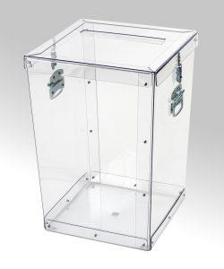 Transparent ballot boxes – 012