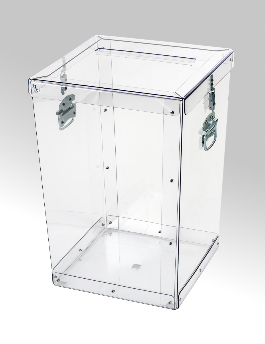 Transparent ballot boxes - 012