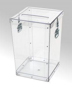 Transparent ballot boxes – 015