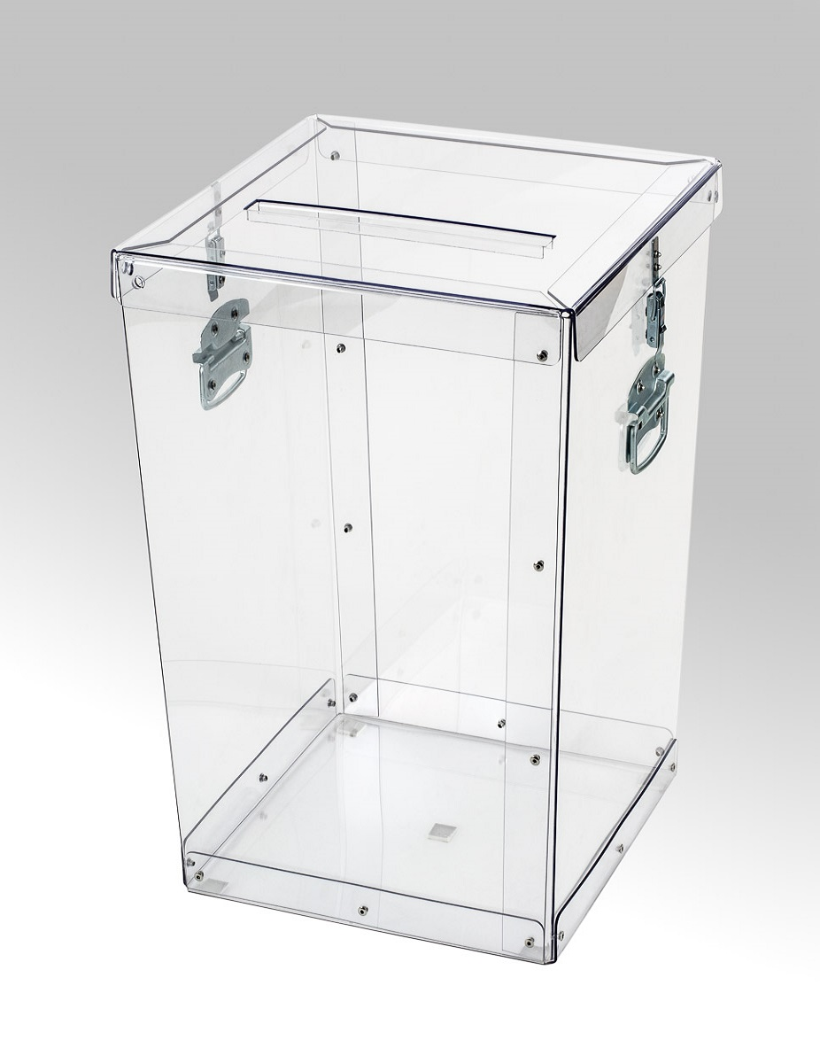 Transparent ballot boxes - 015