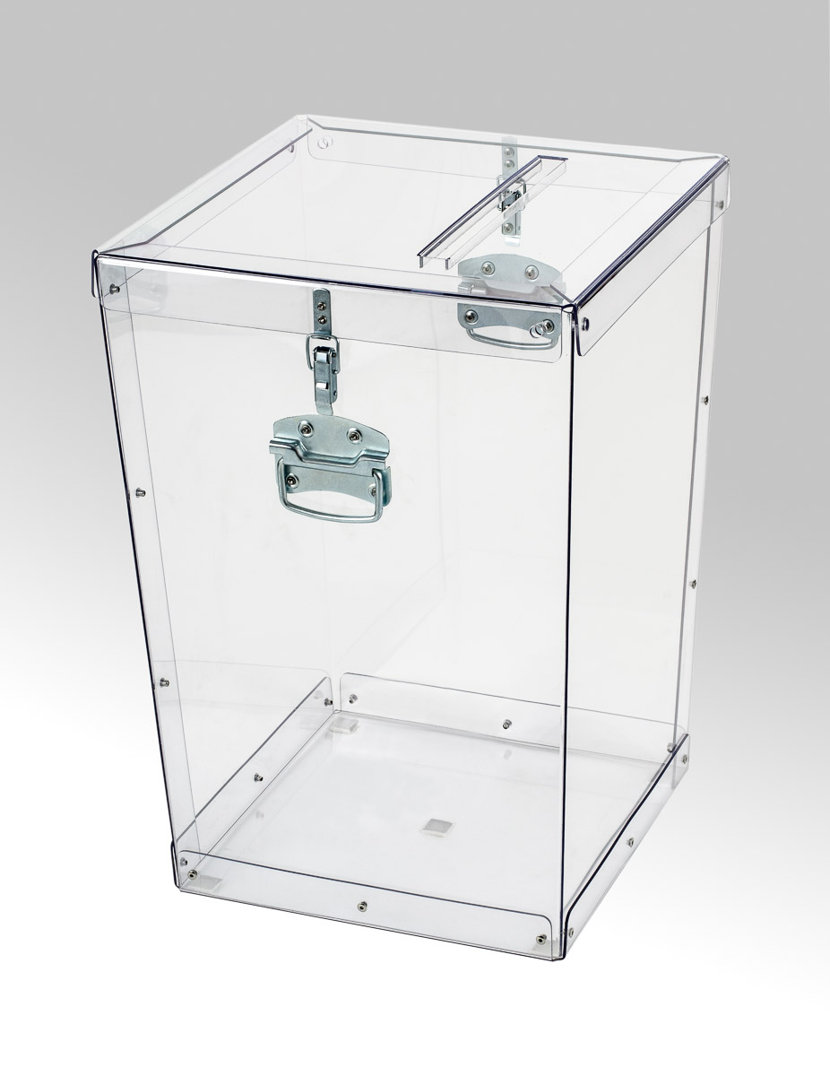 Transparent ballot boxes - 016