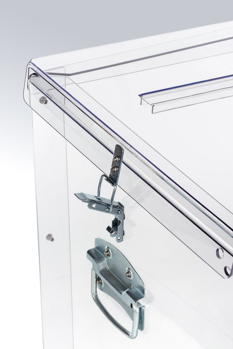 Transparent ballot boxes - 109